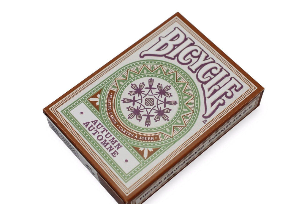 Bicycle® Autumn Playing Cards - RarePlayingCards.com - 3