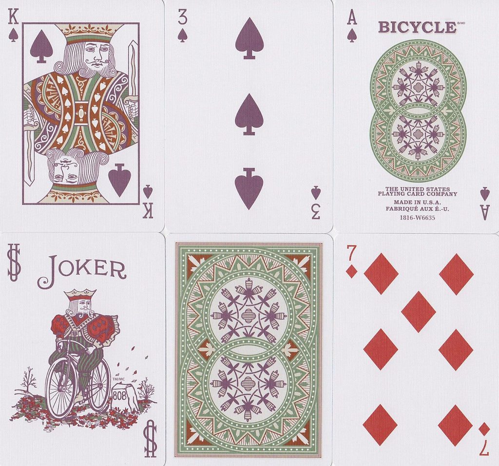 Bicycle® Autumn Playing Cards - RarePlayingCards.com - 8