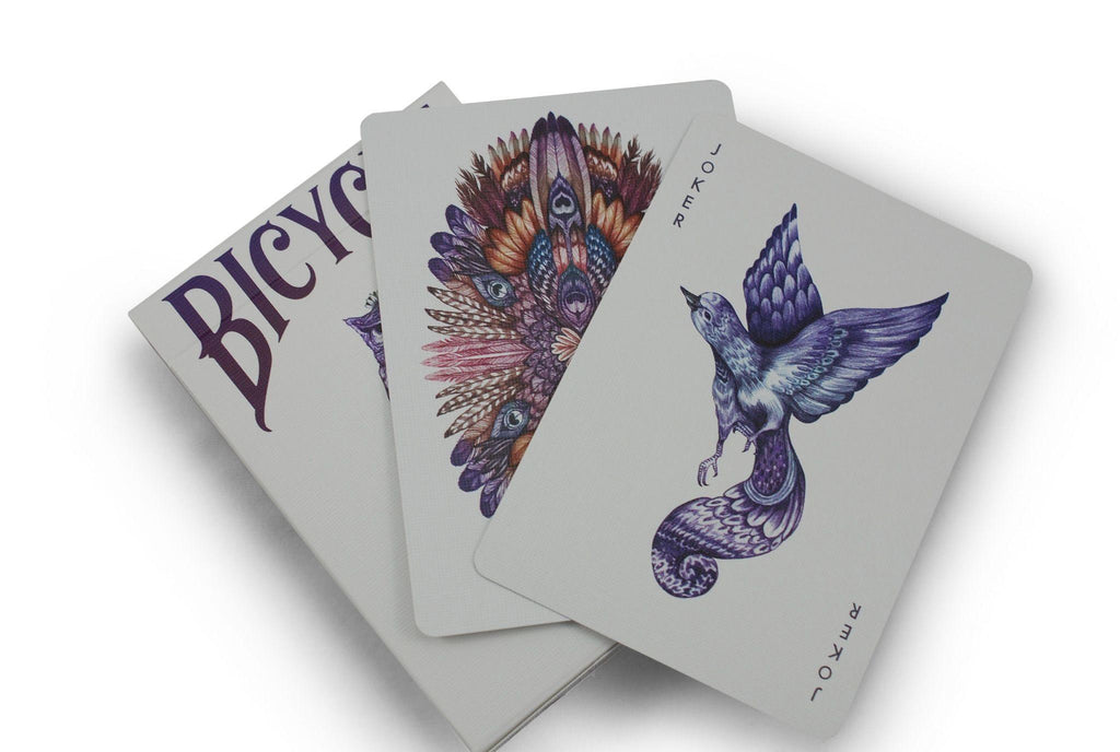 Bicycle® Aves Playing Cards - RarePlayingCards.com - 6