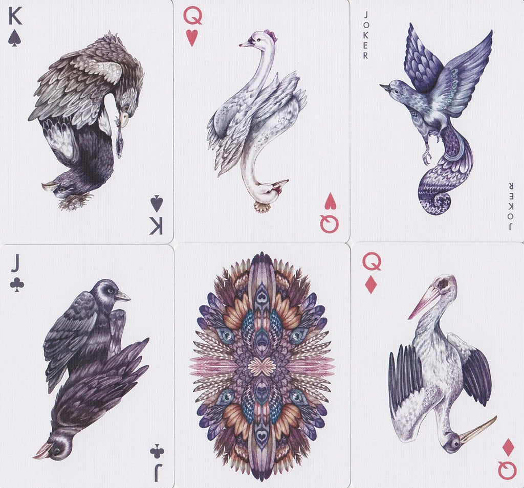Bicycle® Aves Playing Cards - RarePlayingCards.com - 7