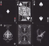 Bicycle® Black Ghost Playing Cards - RarePlayingCards.com - 10