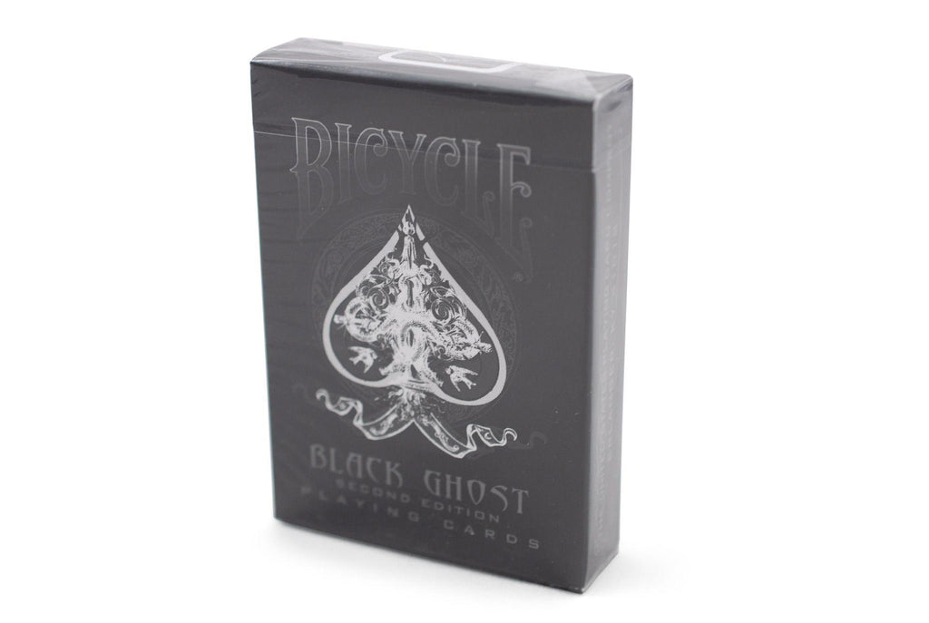 Bicycle® Black Ghost Playing Cards - RarePlayingCards.com - 2