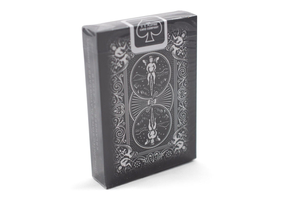 Bicycle® Black Ghost Playing Cards - RarePlayingCards.com - 3