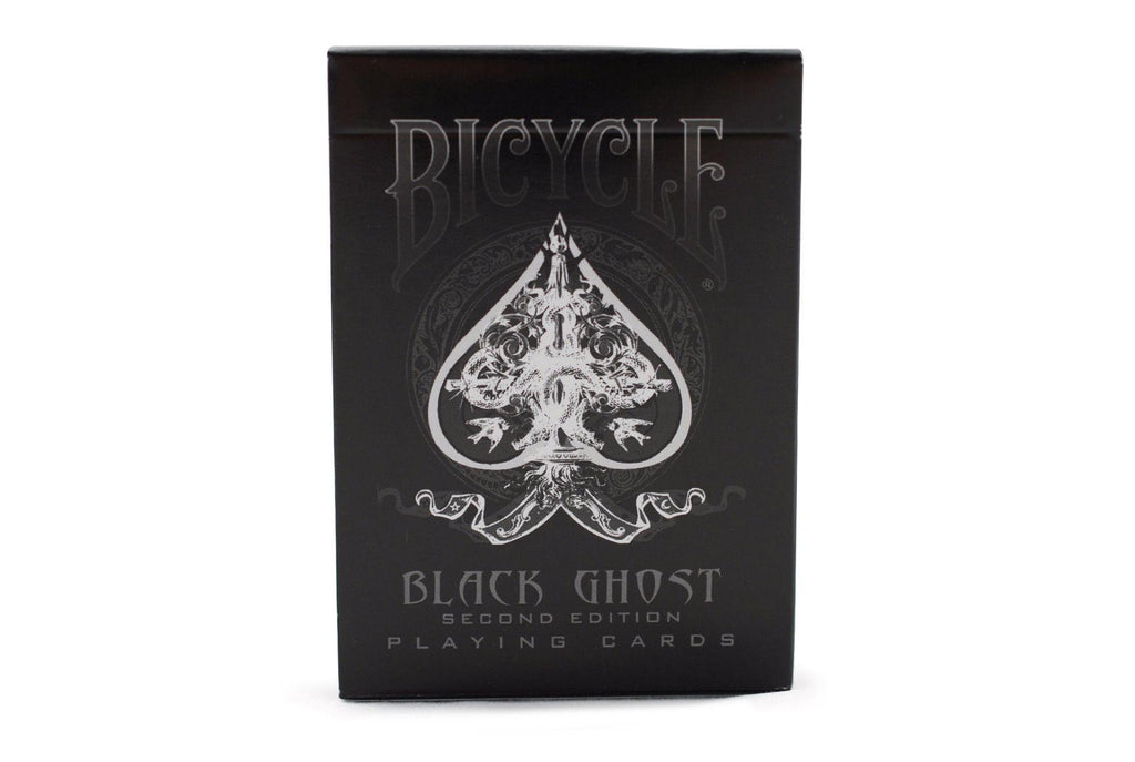 Bicycle® Black Ghost Playing Cards - RarePlayingCards.com - 4