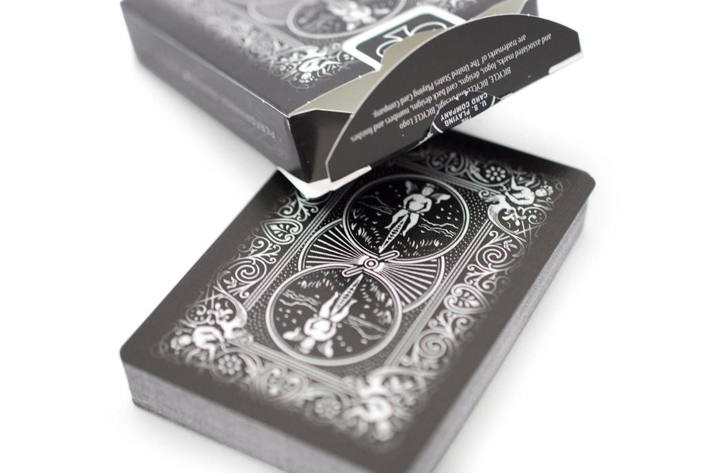 Bicycle® Black Ghost Playing Cards - RarePlayingCards.com - 6