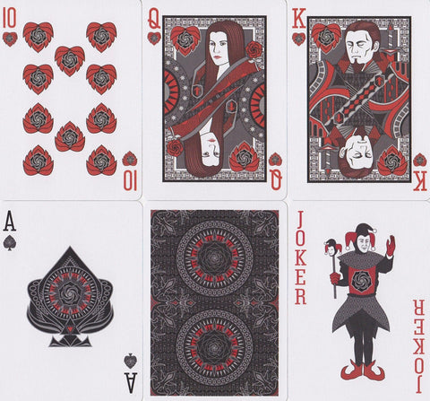 Bicycle® Black Rose Playing Cards - RarePlayingCards.com - 1