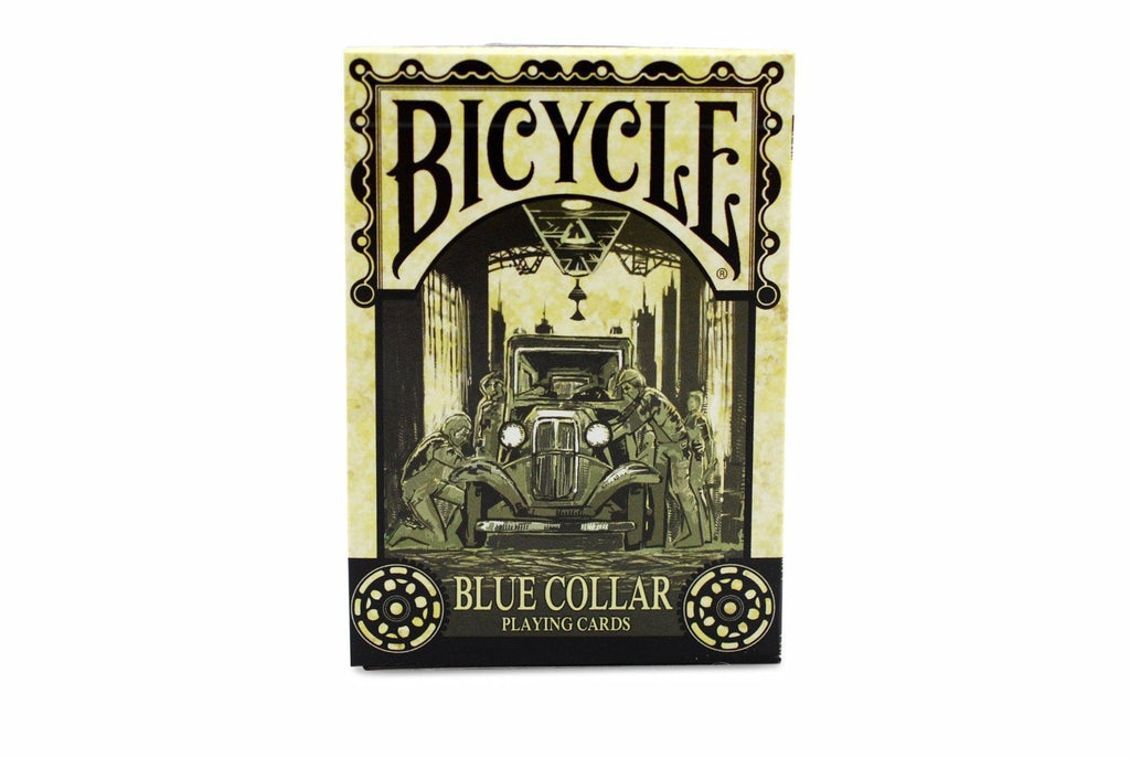 Bicycle® Blue Collar Playing Cards by US Playing Card Co.