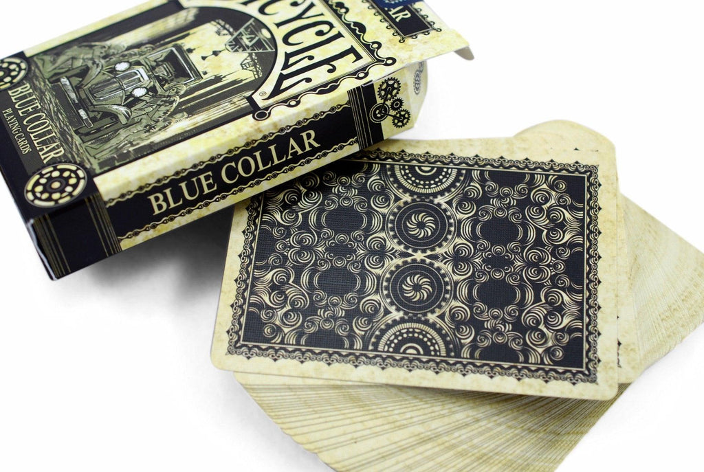 Bicycle® Blue Collar Playing Cards