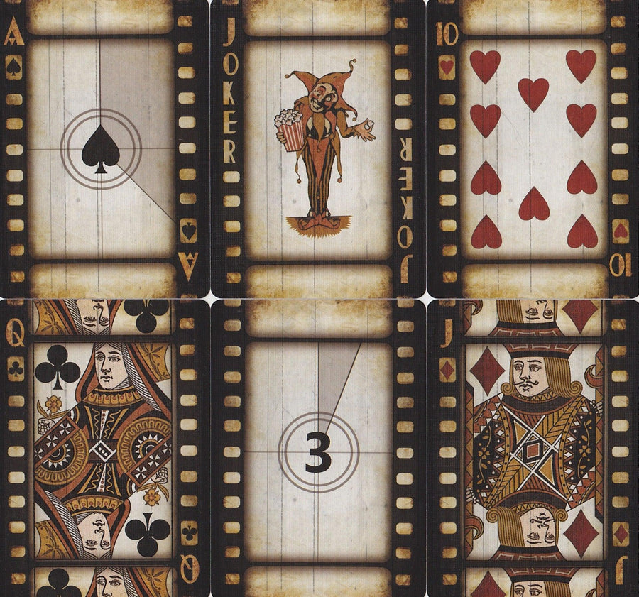 Bicycle® Cinema Playing Cards by US Playing Card Co.