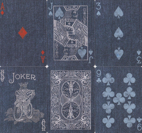 Bicycle® Denim Playing Cards by US Playing Card Co.