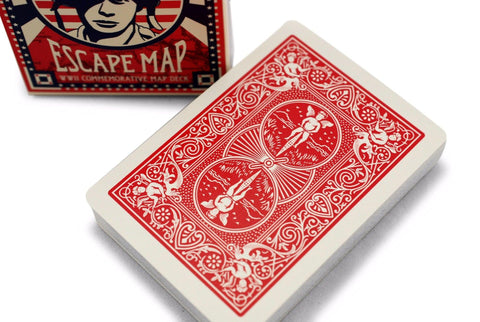 Bicycle® Escape Map Playing Cards - RarePlayingCards.com - 1