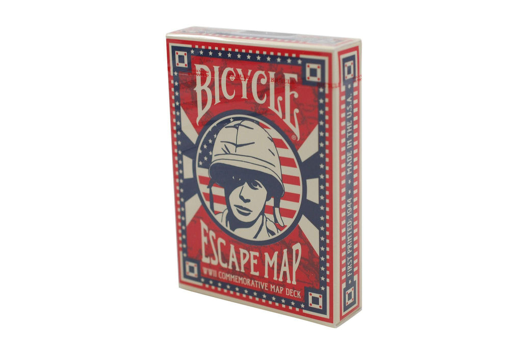 Bicycle® Escape Map Playing Cards - RarePlayingCards.com - 2