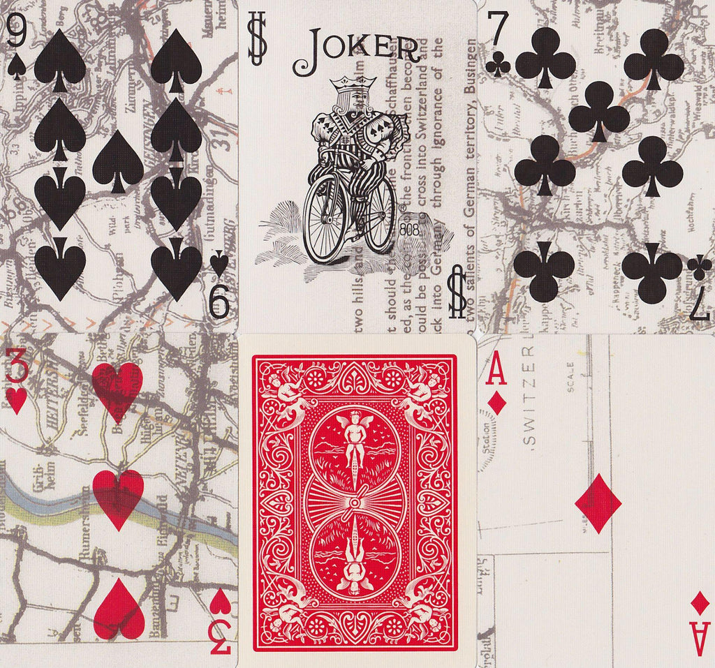 Bicycle® Escape Map Playing Cards - RarePlayingCards.com - 9