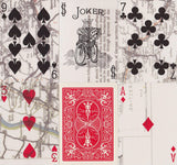 Bicycle® Escape Map Playing Cards by US Playing Card Co.