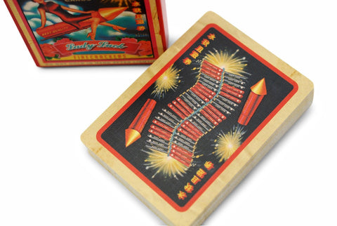 Bicycle® Firecracker Playing Cards by US Playing Card Co.