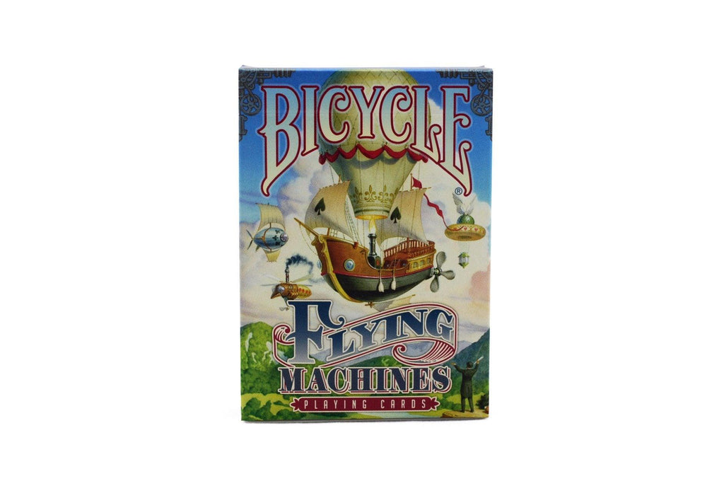 Bicycle® Flying Machines Playing Cards - RarePlayingCards.com - 2