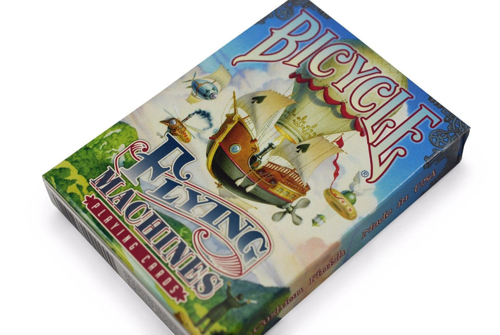 Bicycle® Flying Machines Playing Cards - RarePlayingCards.com - 3