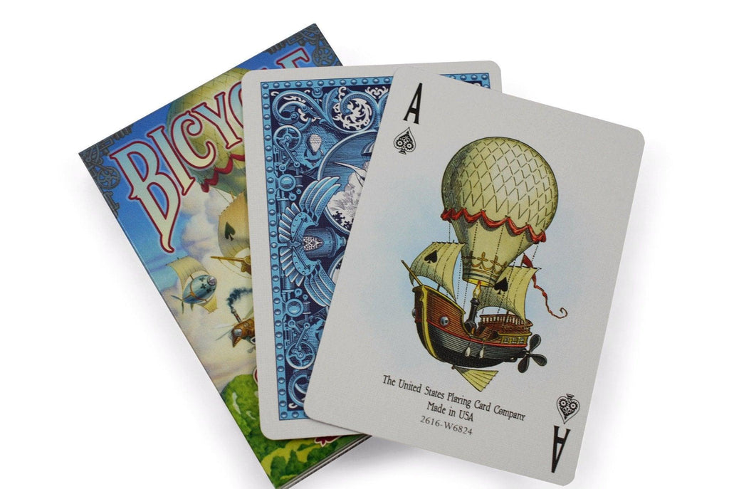 Bicycle® Flying Machines Playing Cards - RarePlayingCards.com - 7