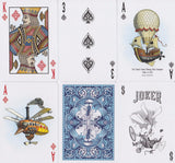 Bicycle® Flying Machines Playing Cards - RarePlayingCards.com - 8