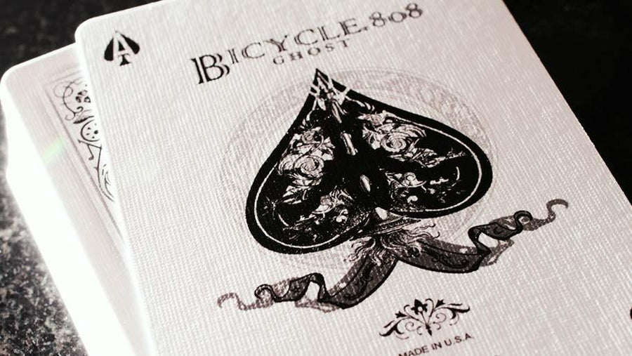 Bicycle® Ghost Playing Cards by Ellusionist