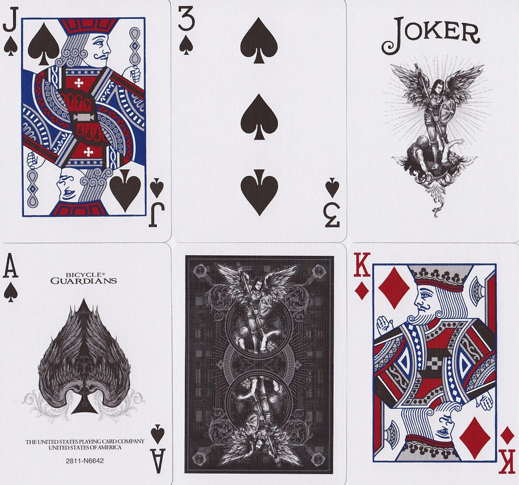 Bicycle® Guardians Playing Cards - RarePlayingCards.com - 10