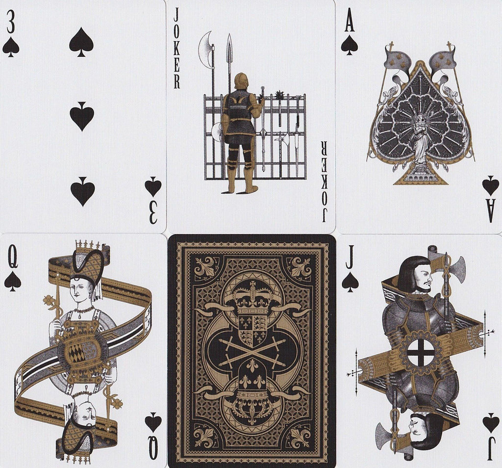Bicycle® Hundred Years' War Playing Cards by US Playing Card Co.