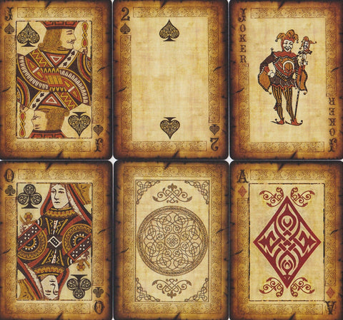 Bicycle® Old Parchment Playing Cards by US Playing Card Co.