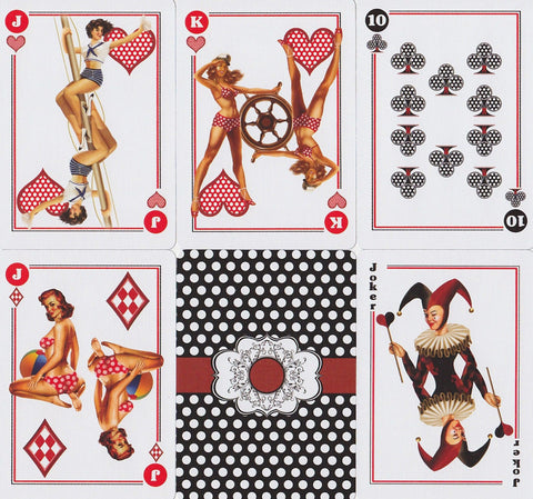 Bicycle® Pin-Up Playing Cards by US Playing Card Co.