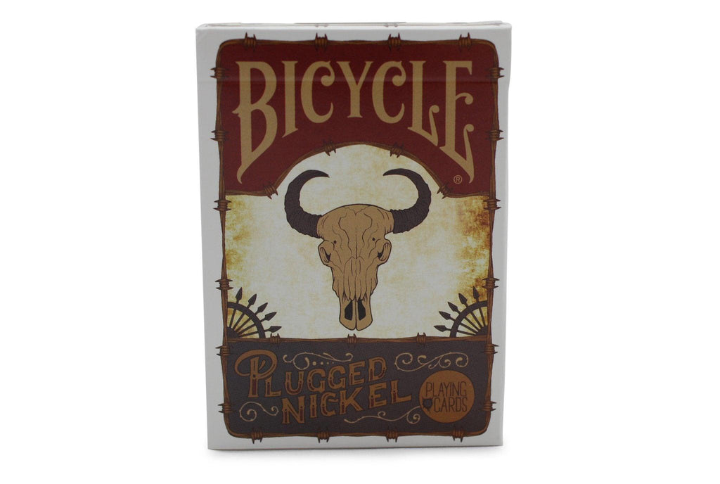 Bicycle® Plugged Nickel, Wanted Poster Playing Cards - RarePlayingCards.com - 2