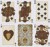 Bicycle® Plugged Nickel, Wanted Poster Playing Cards by US Playing Card Co.