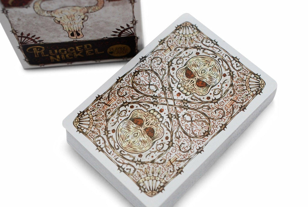 Bicycle® Plugged Nickel, Rusted Tin Playing Cards