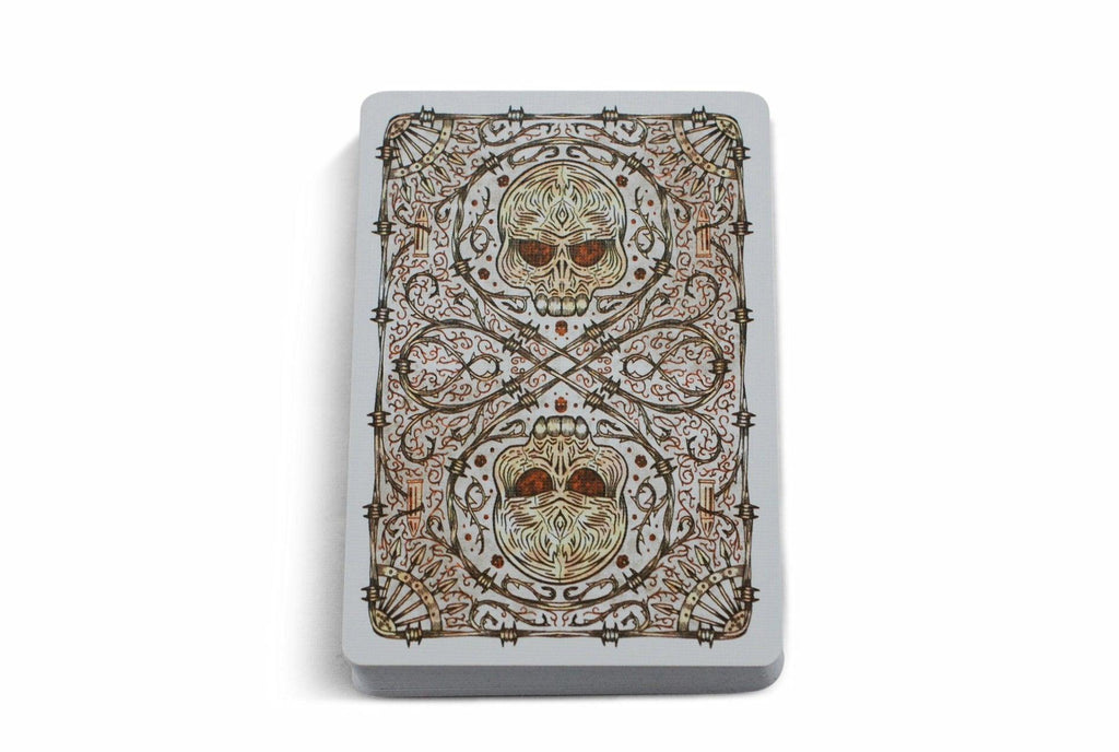 Bicycle® Plugged Nickel, Rusted Tin Playing Cards by US Playing Card Co.