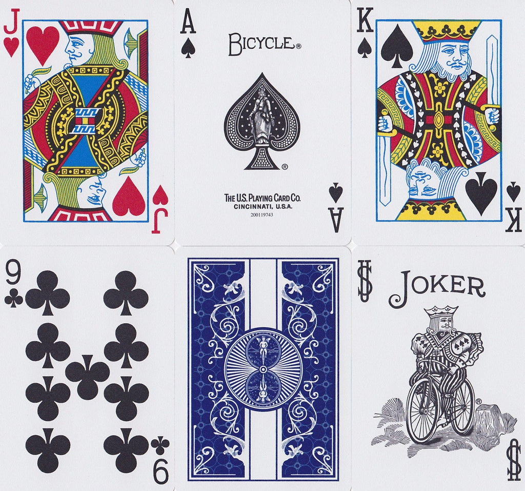 Bicycle® Prestige Playing Cards - RarePlayingCards.com - 9