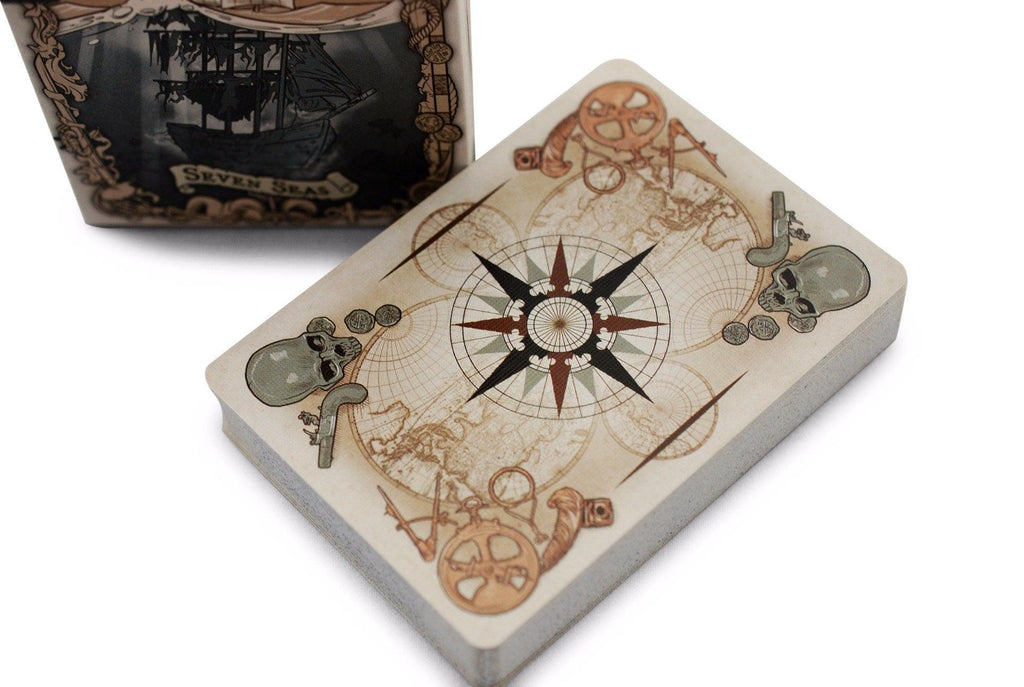 Bicycle® Seven Seas Playing Cards
