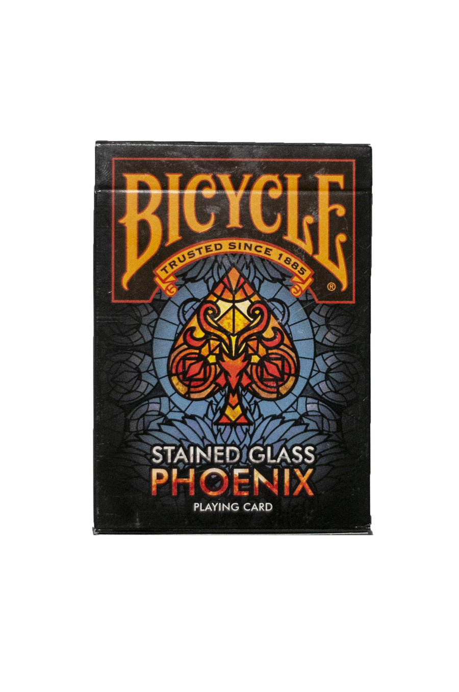 Bicycle Stained Glass Phoenix Playing Cards by US Playing Card Co.