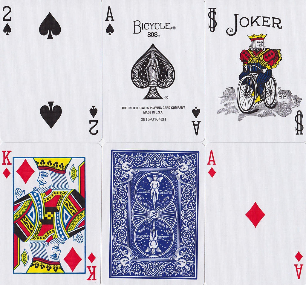 Bicycle® Standard Playing Cards - RarePlayingCards.com - 10