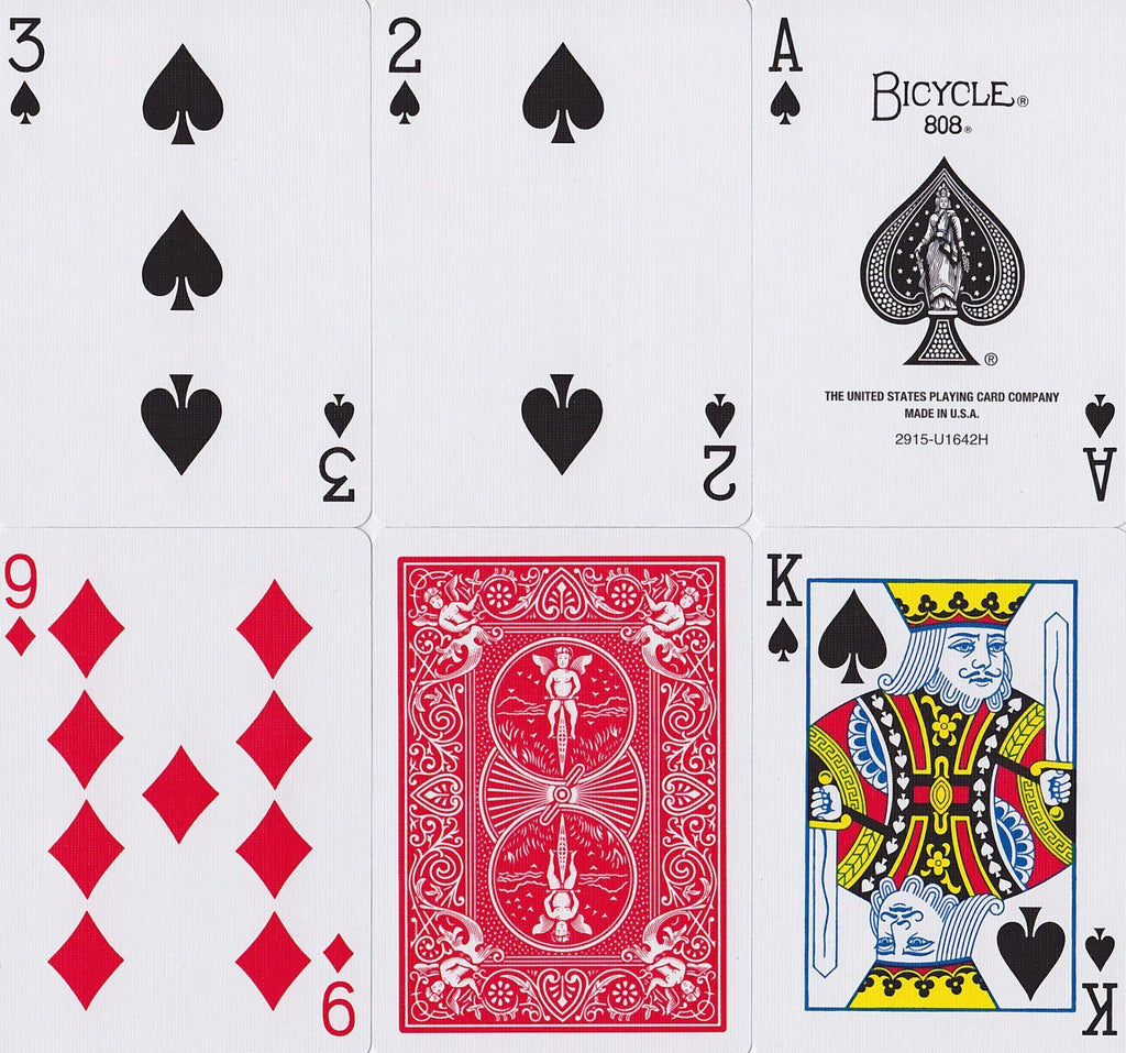 Bicycle® Standard Playing Cards - RarePlayingCards.com - 9