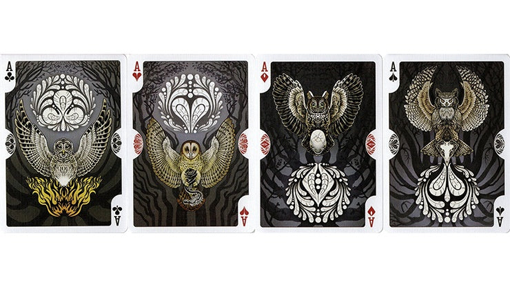 Bicycle Strigiformes Owl Playing Cards by US Playing Card Co.