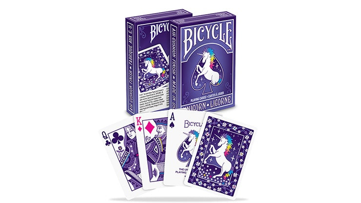 Bicycle® Unicorn Playing Cards by US Playing Card Co.