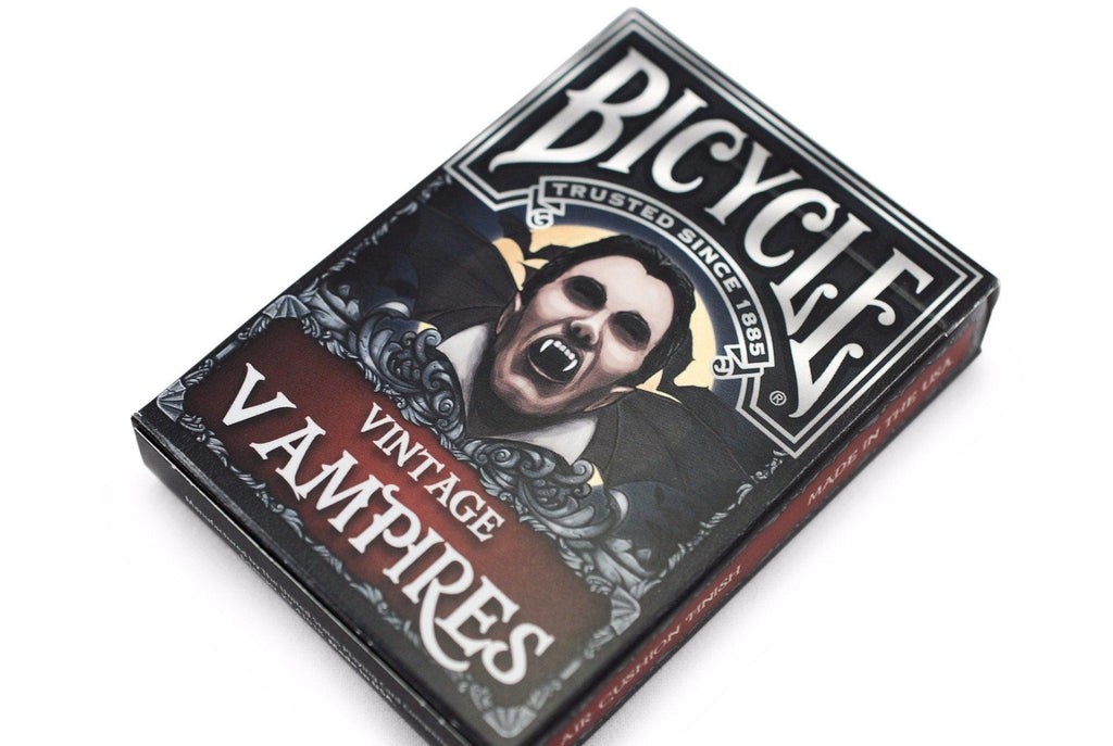 Bicycle® Vintage Vampires Playing Cards - RarePlayingCards.com - 3