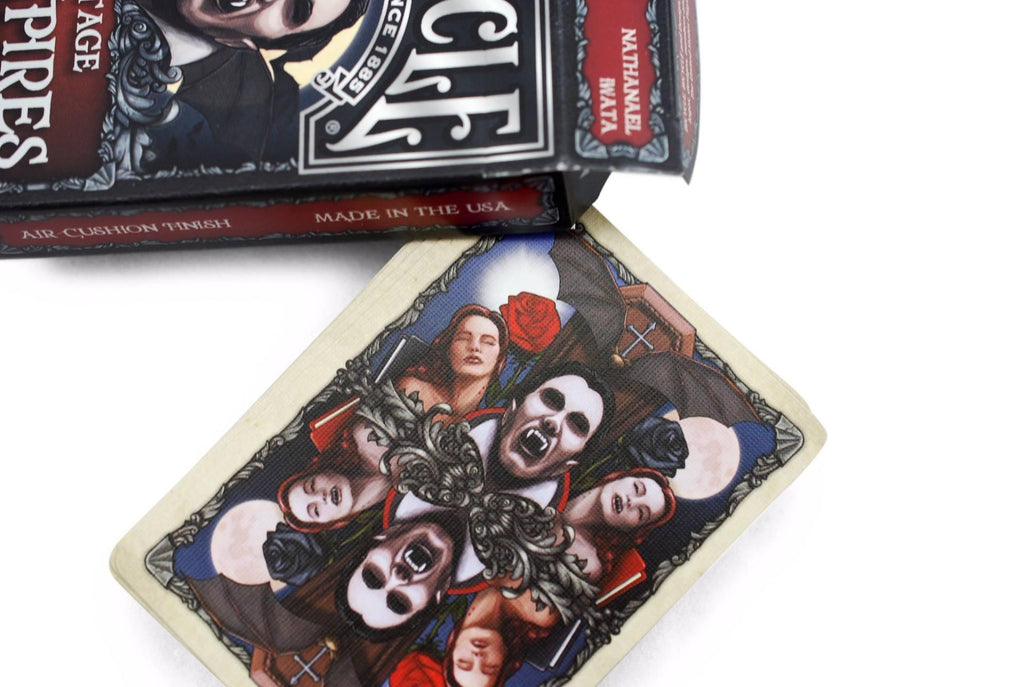 Bicycle® Vintage Vampires Playing Cards - RarePlayingCards.com - 5