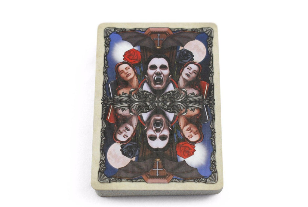 Bicycle® Vintage Vampires Playing Cards - RarePlayingCards.com - 6