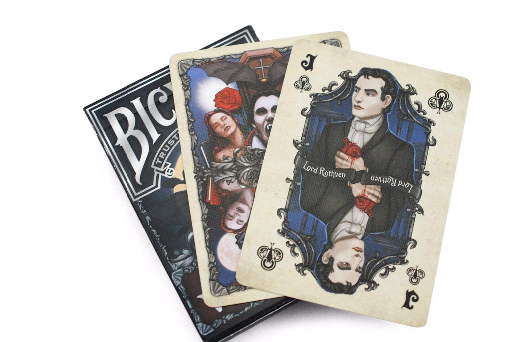 Bicycle® Vintage Vampires Playing Cards - RarePlayingCards.com - 7