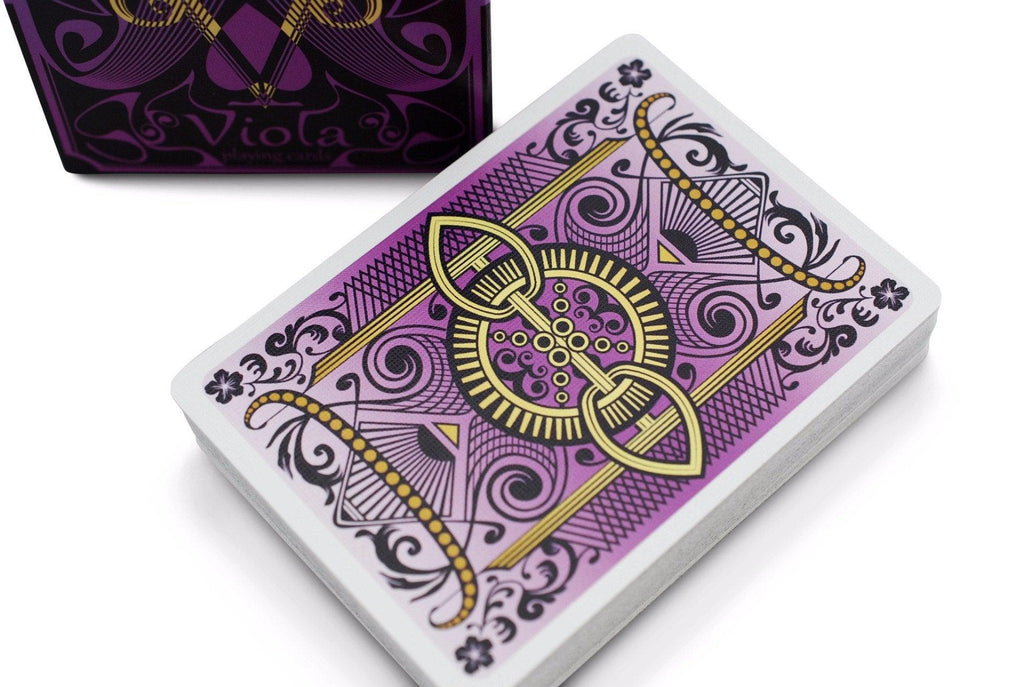 Bicycle® Viola Playing Cards by US Playing Card Co.