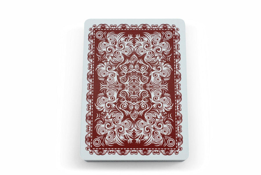 Bicycle® White Collar Playing Cards by US Playing Card Co.