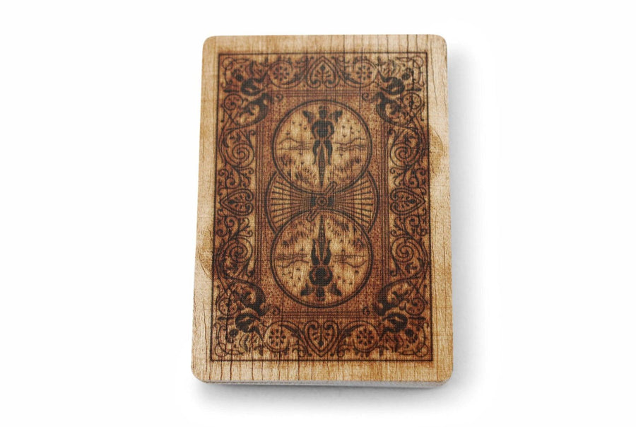 Bicycle® Wood Playing Cards by US Playing Card Co.