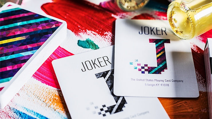 Binary Playing Cards by US Playing Card Co.