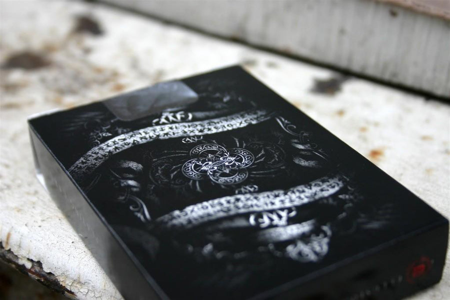 Black Arcane Playing Cards by Ellusionist