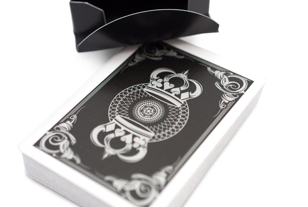 Black Crown Playing Cards - RarePlayingCards.com - 6