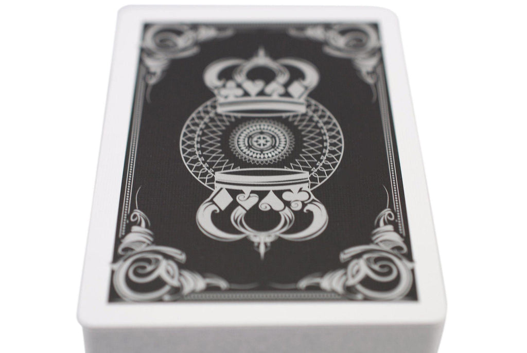 Black Crown Playing Cards - RarePlayingCards.com - 8